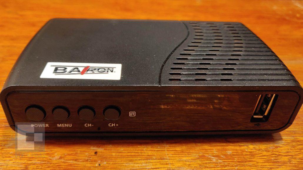 Baron Digital TV Receiver Front