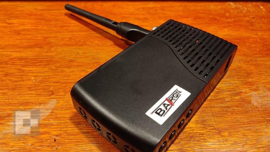Baron Digital TV Receiver WiFi Back